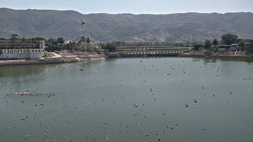 Pushkar Lake by day
